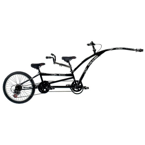 Adams Trail-A-Bike Tandem, Black
