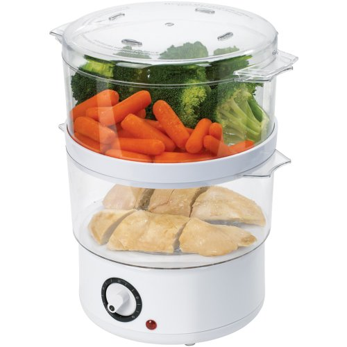 Read About Oster CKSTSTMD5-W 5-Quart Food Steamer, White
