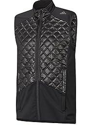 adidas Golf Men\'s Climaheat Prime Fill Vest, Black/Black, XX-Large
