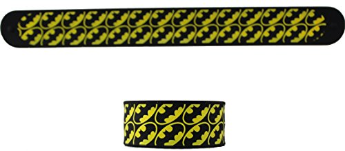 Batman DC Comics Batman Multi Logo Slap Bracelet