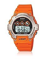 Casio Reloj de cuarzo Unisex W-214H-4A 45 mm
