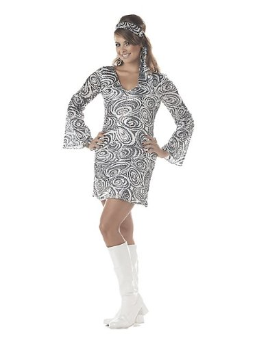Plus Size Disco Diva Dress 1X
