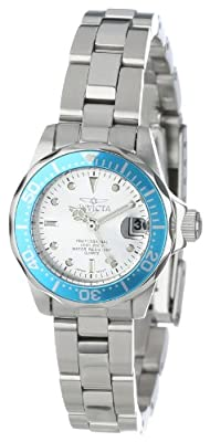 Invicta Women's 14096 Pro Diver Silver Dial Stainless Steel Watch