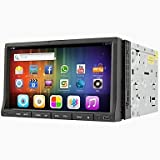 0916 Android 4.2 7 Inch In-Dash Car DVD Player Multi-Touch Capacitive with WIFI,GPS,RDS,IPOD ,BT,Touch,Screen , Black