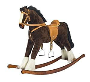 "Handmade Brand New Rocking Horse ""Titan"" from MJMARK"