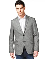 Autograph 2 Button Tailored Fit Jacket with Silk
