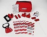"""Nmc Economy Lockout Pouch Kit - 8X6x7"""""""