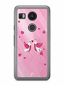YuBingo Love Birds Designer Mobile Case Back Cover for Google Nexus 5X