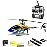 Top Race® TR-808 Mini 6 Channel 3D Stunt RC Helicopter RTF (Indoors/Outdoors)