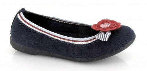 VUL-LADI, Pantofole bambine Blu Marino-rojo