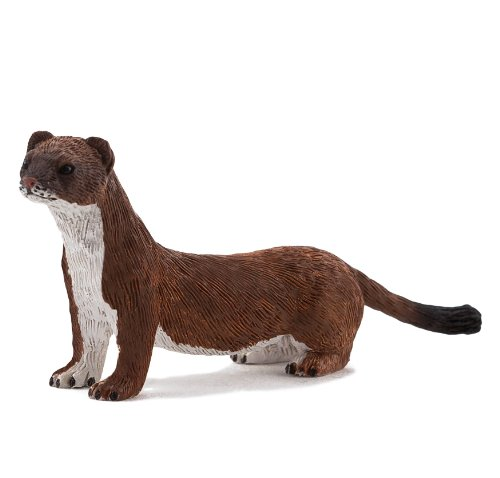 Mojo Fun 387187 Stoat Weasel - Realistic International Wildlife Toy Replica - New for 2013! - 1