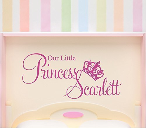 personalizado-our-little-princess-crown-adhesivo-pared-personalizado-las-ninas-dormitorio-mural-dora