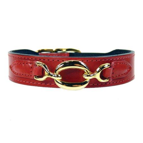 hartman-rose-hartman-collection-dog-collar-ferrari-red-20-22-inch