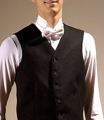 Large Traditional Waistcoat in Black