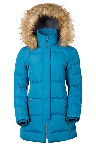 Mountain Warehouse Giacca in piumino Donna Isla Verde-blu scuro 46