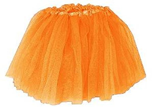 Girls Ballet Tutu Neon Orange