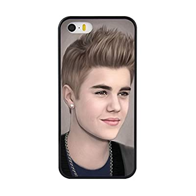 Iphone 5/5s/5SE Case,Justin Bieber For Iphone5/5S/5SE Case[Iphone 5S Cover TPU Case]