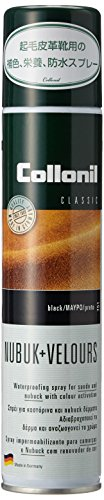 Collonil Nubuck + Velours Spray 200 ml, Black (Leather Color Spray compare prices)