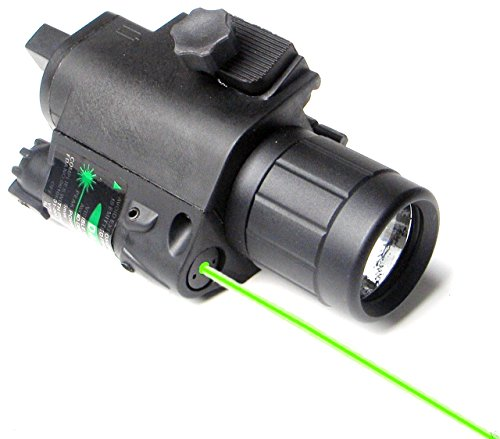 Nuoya001 Hunting Combo Green Dot Laser Sight&Flashlight Light Rail For Rifle/Gun/Handgun