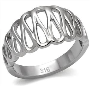 Stainless Steel Never Fade Modern Style Fashion Ring