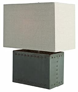 Arteriors Home 46647-215 Richland Riveted Natural Iron Table Lamp