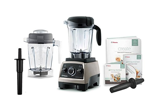 Vitamix Professional Series 750 Brushed Stainless Steel Blender With 64 Ounce Wet Container and 48 Ounce Wet Container (Vitamix 750 compare prices)