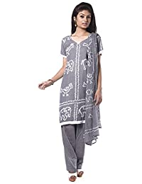 NITARA Women's Cotton Stitched Salwar Suit Sets - B01AJK4IAI