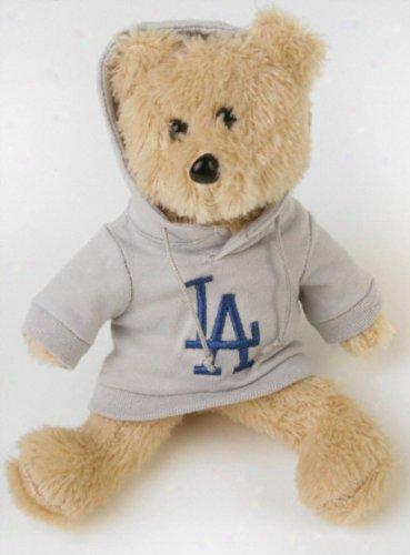 MLB Los Angeles Dodgers 8'' Fuzzy Hoodie Bear