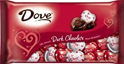 Dove Valentines Heart Promises, Dark Chocolate, 8.87-ounce Pack