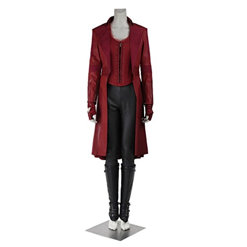 Cosplayfun Captain America Civil War Wanda Maximoff Scarlet Witch Cosplay Costume Full Set
