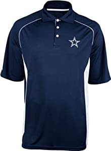 Dallas Cowboys Mens Field Goal Performance Polo by NFL