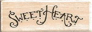 Sweetheart Holly Pond Hill Wood Mounted Rubber Stamp (B13258)