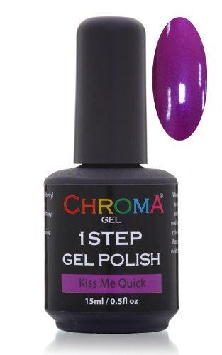 Chroma Gel 1 Step Uv & Led Gel Nail Polish (Kiss Me Quick 09)