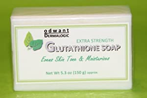 Proven Effective Anti Oxidant Glutathione Skin Whitening Lightening Soap Extra Strength