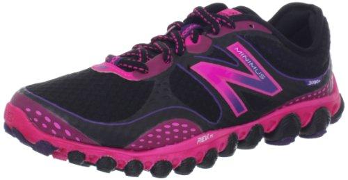 4d4bb08709 New Balance Women's W3090v2 Minimus Ionix Running Shoe,Black/Pink,10.5 B US