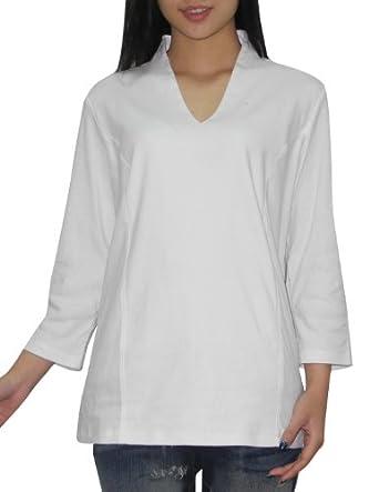 Liz claiborne womens v neck 3 4 sleeve top shirt tee xl for Liz claiborne v neck t shirts