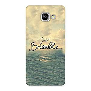 Just Breath Back Case Cover for Galaxy A5 2016