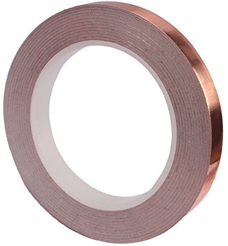 Copper Foil Tape with Conductive Adhesive (1/4inch X