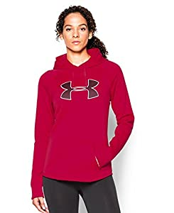 Under Armour Women's UA Storm Armour® Fleece Big Logo Hoodie Medium Fury