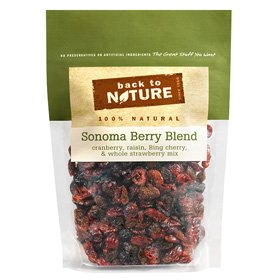 Back To Nature Sonoma Berry Blend Trail Mix, 11-Ounce Bags (Pack of 3)