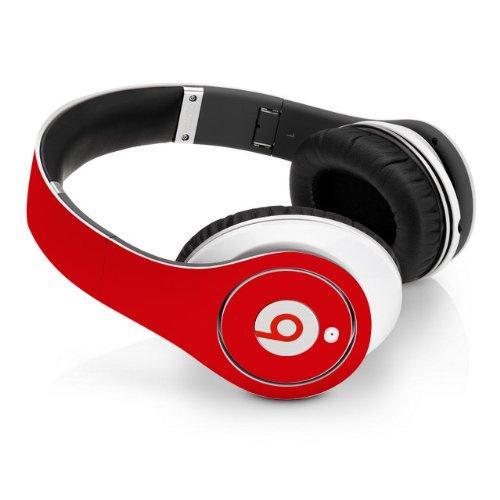 Beats Studio Full Headphone Wrap In Red (Headphones Not Included)
