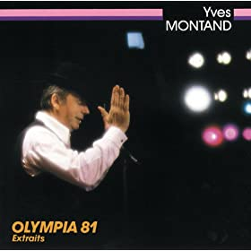 Yves Montand - Olympia 1981 (Live)