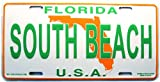 South Beach Florida License Plate