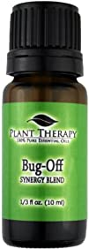 Bug Off Synergy. Essential Oil Blend. 10 ml (1/3 oz). 100% Pure, Undiluted, Therapeutic Grade….