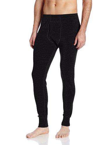 Minus33 100% Merino Wool Base Layer 706 MidWeight Bottoms Black Large
