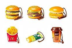 McDonald's FOOD STRAP/マクドナルド フードストラップ 第1弾 【全6種セット】(食玩)