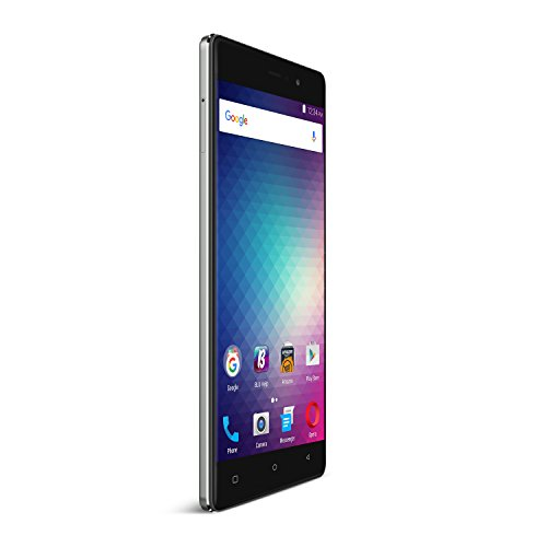 BLU VIVO 5R Refresh Smartphone - 5.5-Inch Display 4G LTE GSM Unlocked, GREY (Unlock Iphone 1 compare prices)