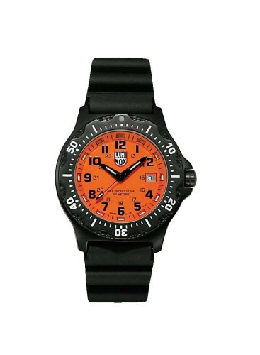 Luminox LU8409 Navy Seals Black OPS Orange Dial
