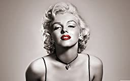 POP Home Store Marilyn Monroe Sexy LipsPoster Wall 12X18 Inch