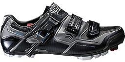 Shimano SH-XC61 Wide Men\'s Mountain Bike Shoes - Black Size 46